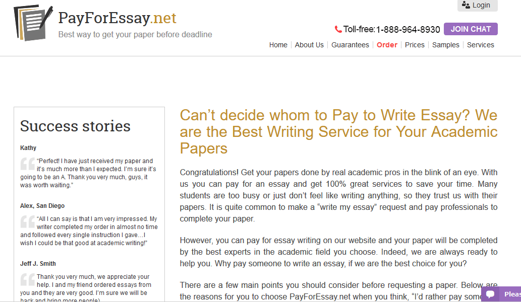 pay you to write my essay Therefore, you must pay special attention to essays as they are used to judge your knowledge low quality essays will significantly reduce your grades the situation gets worse if you speak english as your 2 nd language writing a well-researched, customized and flawless essay will become extremely tough for you.