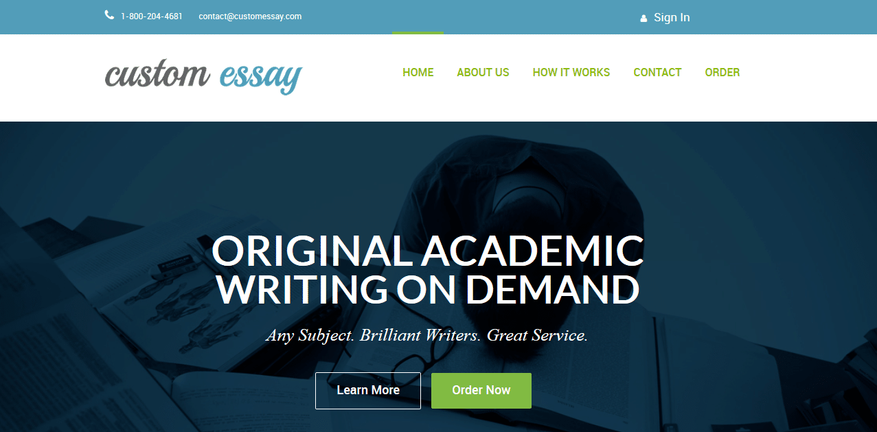 Custom essays review