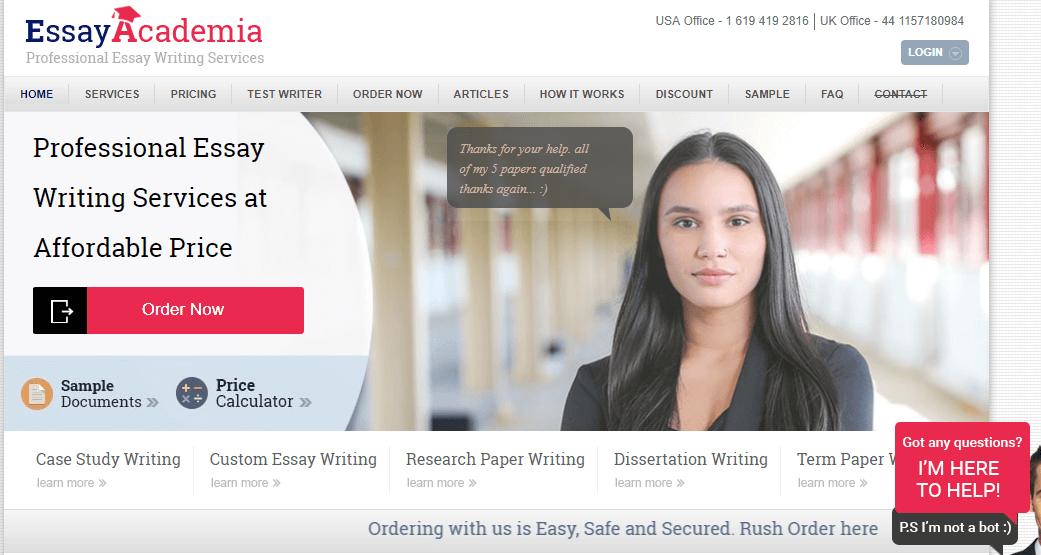 EssayAcademia review