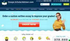 Essays ScholarAdvisor review