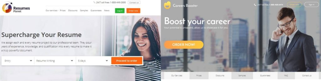 Best Resume Writing Service In 2020 Resumesplanet Or Careersbooster