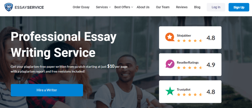 EssayService review